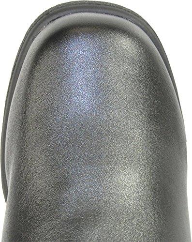 Kozi Donna Stivali Invernali Sh4535 Fodera In Pelliccia Stivali Comfort Nero 8.5m