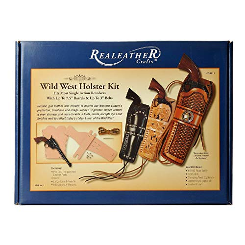 Realeather Crafts C4211-00 Wild West Holster Kit 0 ()