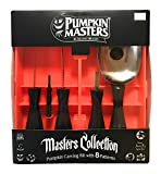 Pumpkin Masters Masters Collection Pumpkin Carving Kit, #1 Brand, 5 Tools, 8 Patterns