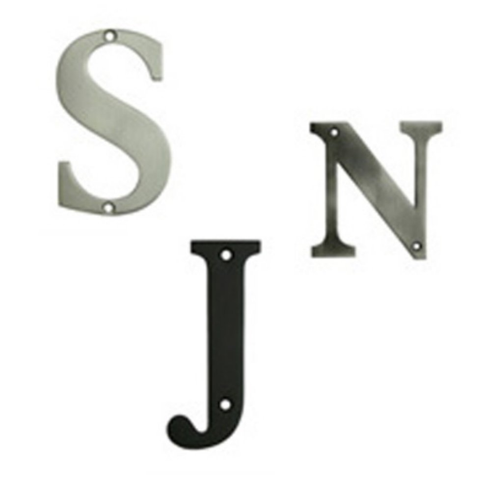 住宅用Letter :番号仕上げ:ブラッシュニッケル、文字Z B0042FLEMC