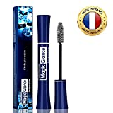 Natural Eyebrow and Eyelash Growth Serum for Longer, Fuller & Thicker Lashes - Made in France - Extra Big Tube 0.3Oz - Fast Results in 10 Days - High Potency Formula for Rapid Growth, Treatment & Care