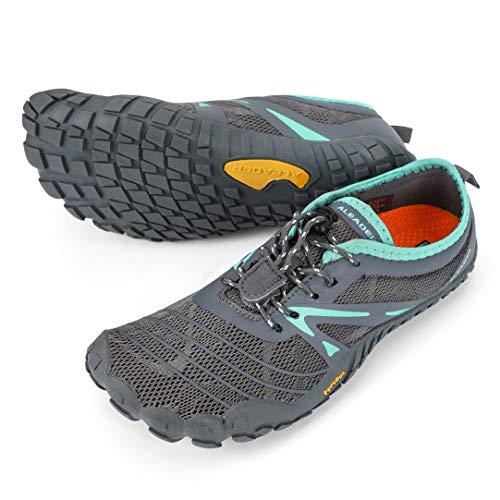 ALEADER Women's Minimalist Trail Running Shoes Barefoot   Wide Toe   Zero Drop