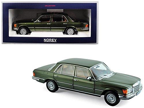 1976 Mercedes Benz 450 SEL 6.9 Green Metallic 1/18 Diecast Model Car by Norev 183455