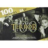100 Greatest Terror Classics: Bela Lugosi - Vincent Price - Boris Karloff - Lon Chaney - Barbara Steele - Dr. Jekyll and Mr. Hyde - Hunchback of Notre Dame - Phantom of the Opera - Metropolis - Nosferatu - Night of the Living Dead - Little Shop of Horro