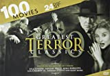 100 Greatest Terror Classics: Bela Lugosi - Vincent Price - Boris Karloff - Lon Chaney - Barbara Steele - Dr. Jekyll and Mr. Hyde - Hunchback of Notre Dame - Phantom of the Opera - Metropolis - Nosferatu - Night of the Living Dead - Little Shop of Horro