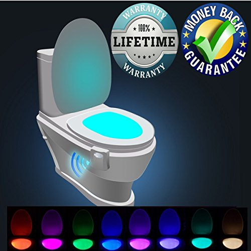 Bowl Light Motion Activated Toilet Night light LED Motion Se