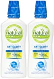 The Natural Dentist Anticavity Fluoride Rinse, Fresh Mint - 16.9 oz - 2 pk