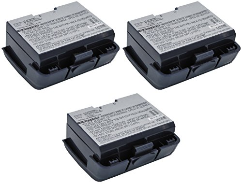 VeriFone VX680 Wireless Terminal Credit Card Reader Battery Combo-Pack Includes: 3 x SDPOS-L1918 Batteries by Synergy Digital
