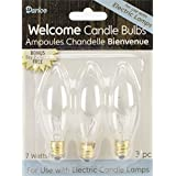 Electric Candle Bulb 7 Watt 6 Count (2, pack of 3 )
