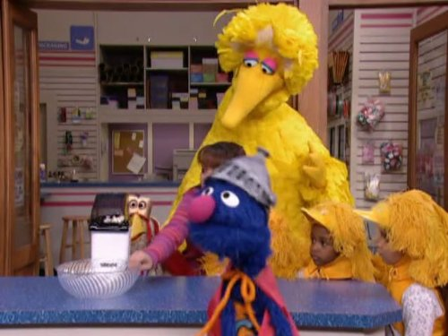 Super Chicken on Sesame Street. Episode 4105]()