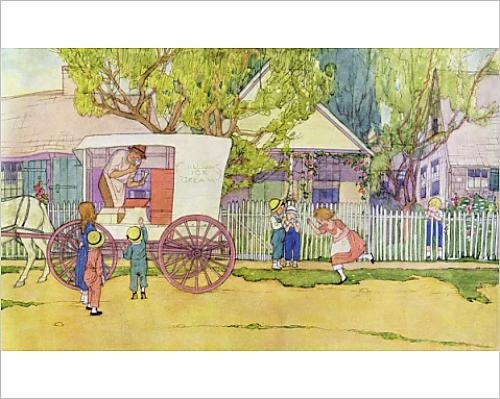 10x8 Print of The Hokey Pokey Man by Maginel Wright Barney (7183131) (S27 Cart)