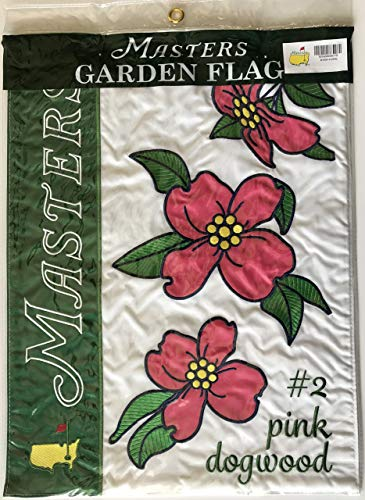 2020 Masters garden flag floral augusta national pink dogwood flowers pga from Inkster Sports