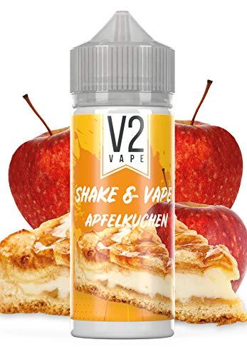 V2 Vape Shake and Vape Apfelkuchen | 20ml hochdosiertes Aroma-Konzentrat zum mischen mit Base für E-Liquid | Longfill…