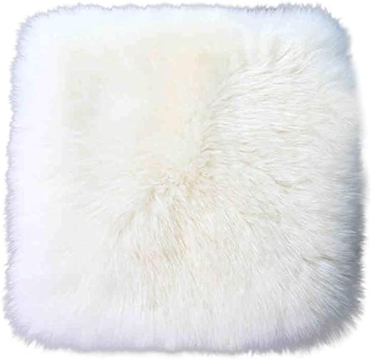 LUXURIOUS Australian Sheepskin GOLD color Insert Seat Cover A Pair