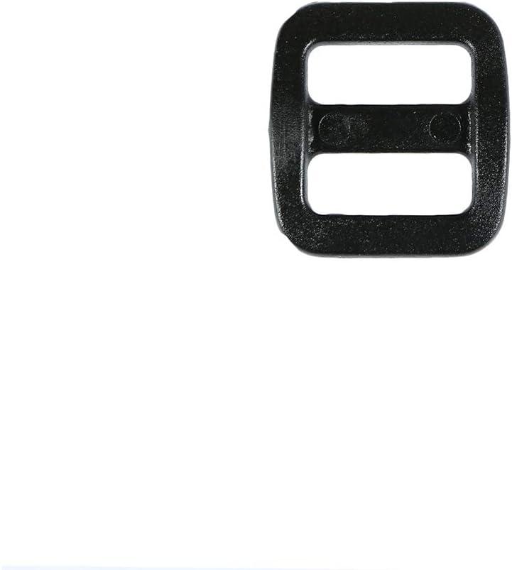 Dog Collars Rifle Slings 1//2 Inch for Bag Straps Strapworks Black Plastic Tri-Glide Slide