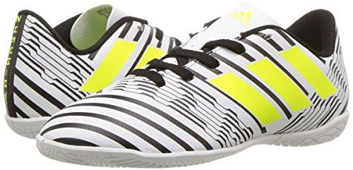 Pictures of adidas Boys' Nemeziz 17.4 in J S82464 White/Solar Yellow/Black 4