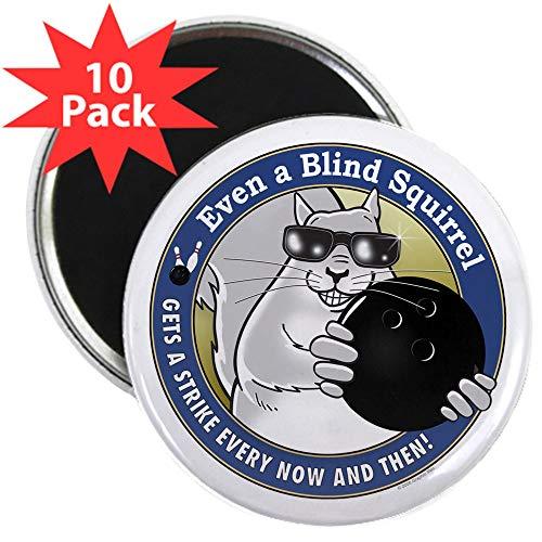 - CafePress Bowling Blind Squirrel 2.25 Magnet (10 Pack) 2.25