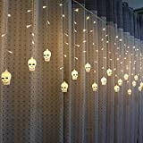 where to buy cool shower heads Christmas Best Decoration!!!Kacowpper 3.5M Halloween Christmas Window Curtain Pumpkin Ghost Head String Icicle String LED Lights,Enjoy a Warm Atmosphere