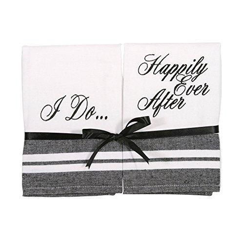 Wedding Bliss Handtowel Gift Set - Set of 2 Embroidered