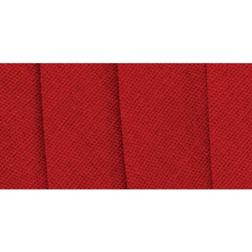 Wrights 117-206-065 Extra Wide Double Fold Bias Tape, Red...