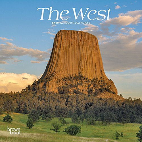 The West 2019 7 x 7 Inch Monthly Mini Wall Calendar, USA United States of America Scenic Nature (Multilingual Edition)