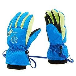 Azarxis Kids Children Snow Gloves Winter...
