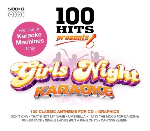 (100 Hits Presents: Karaoke Girls Night Box set, Import, Karaoke Edition by Various Artists (2009) Audio CD)
