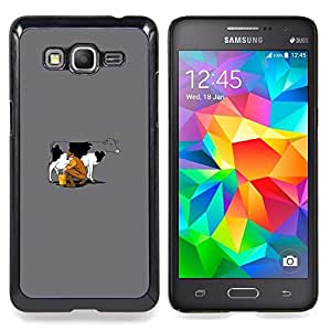 SKCASE Center / Funda Carcasa protectora - El ordeño Vaca divertida;;;;;;;; - Samsung Galaxy Grand Prime G530H / DS