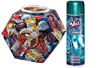 Bundle Package Of Asst. Flavor Condom Bowl (288) And Wet Original Gel (3.5oz)