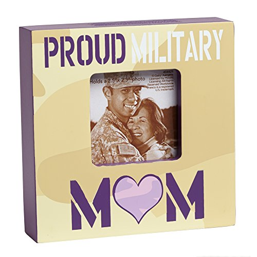 - Enesco Homefront Girl by Gaby Juergens Proud Military Mom Photo Frame, 4-Inch