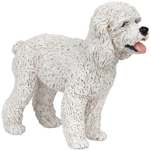 Papo 54016 Dog Companions Figure White Poodle ()