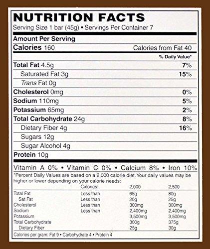 Doctors Best Weight Loss - High Protein Diet Bars - Caramel Butter Pecan 7/box
