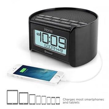 iHome Bedside Bluetooth Alarm Clock Radio: Amazon co uk: Electronics