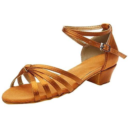 6443b8c1 Sayla Zapatos De Baile Latino para Mujer Sexy Moda Mujeres SalóN Tango  Salsa Zapatos De Baile Latino Zapatos De TacóN Bajo: Amazon.es: Zapatos y  ...