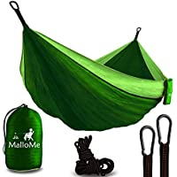 Double & Single Portable Camping Hammock - Parachute...