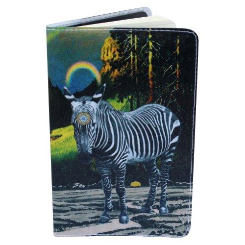 Zebra Magic Sri Yantra Covered Moleskine Cahier Pocket Notebook