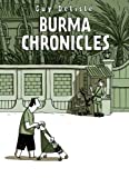 Front cover for the book Burma Chronicles by Guy Delisle