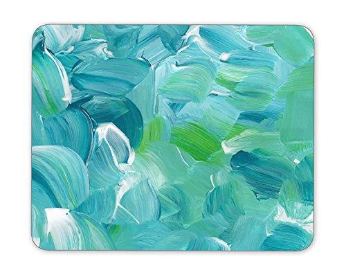 Turquoise blue oil paint texture Mouse Pad mouse mouse pad Mouse Pad Pad Office Mouse Pad Gaming Mouse Pad Mat Mouse Pad mousepad Dimension: 9.5