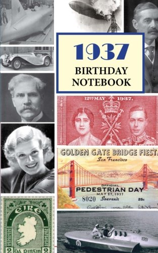 1937 Birthday Notebook: a great alternative to a birthday card