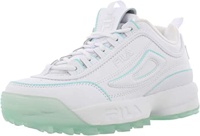 Fila Disruptor Ii Ice Pack Zapatillas (niño grande), color blanco ...