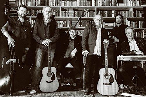 Crosby, Stills, Nash & Young Classic Rock Star Band Poster -