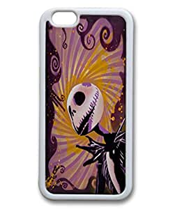 Customized Cute Cartoon Movie The Nightmare Before Christmas jack and sally Wallpaper Rubber Case Cover for iPhone 6