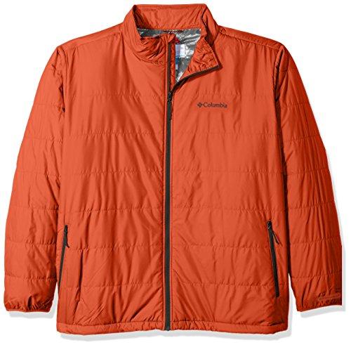 Tall Hot Columbia Jacket Pepper Saddle Chutes Men's p5w8Oq8xA