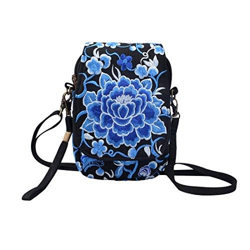 Milong Multicolore Taglia Per Le Borsa Blu Tracolla Unica Mzblus00748 A 1 Donne rwz7qrXF