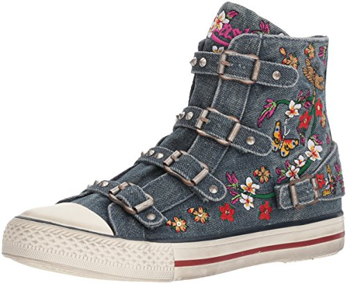 Blue Women Sneaker Virtu Ash Denim AS ZnYqTnW0