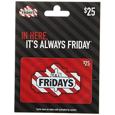 T.G.I. Friday's Gift Card $25