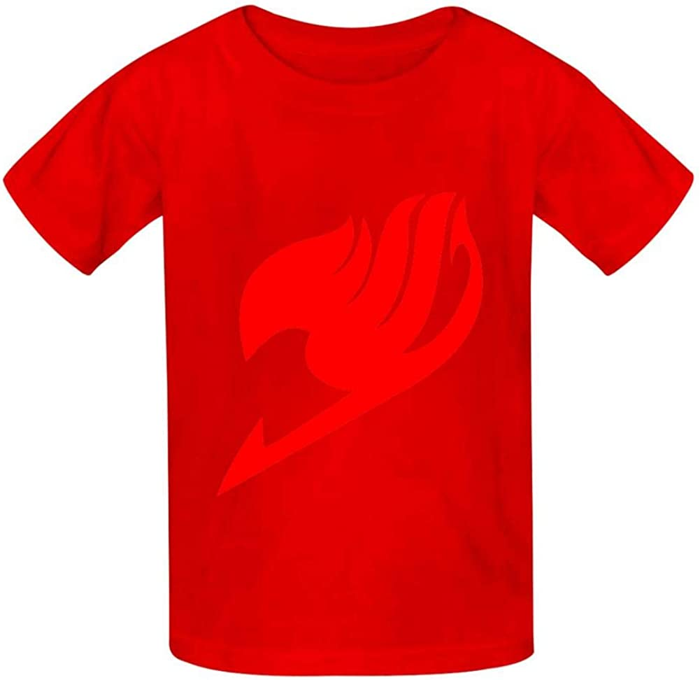 NVT NA FAI-ry Ta-il Kids Tee Short Sleeve Round Neck Boys Girls 100/% Cotton T-Shirt