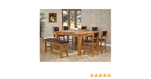 Astonishing Amazon Com Chapman 8 Piece Counter Height Dining Set With Unemploymentrelief Wooden Chair Designs For Living Room Unemploymentrelieforg