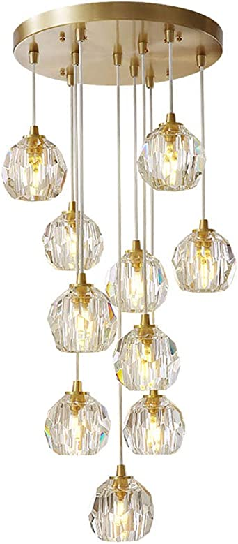 Latest Design Modern Copper Glass Chandelier Ceiling Lights Luxury Gold Flush Mount Chandelier Lamp Led Ceiling Light Fixtures Led Chandeliers Green