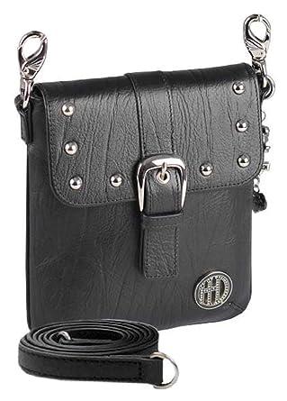 fce291a98c7 Amazon.com: Harley-Davidson Women's Hip Bag, Minimalist Black ...